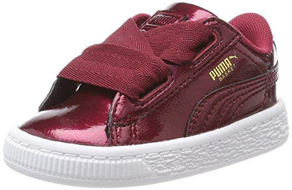 Pumas Unisexe Enfants Coeur De Basket-ball Glam Sneaker Inf - Noir - 20 Eu 6CtAP9a6