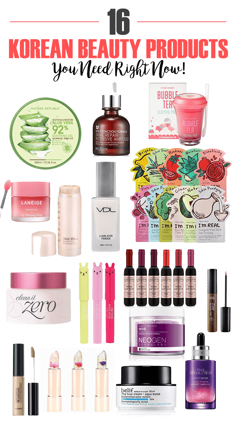 16 Korean Beauty Products You Need Right Now Beauty