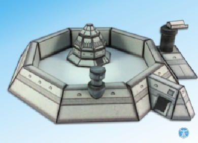 Space Martian Villa for Sci-fi Diorama Free Papercraft Download - http://www.papercraftsquare.com/space-martian-villa-for-sci-fi-diorama-free-papercraft-download.html#1600, #Diorama, #SciFi, #Villa
