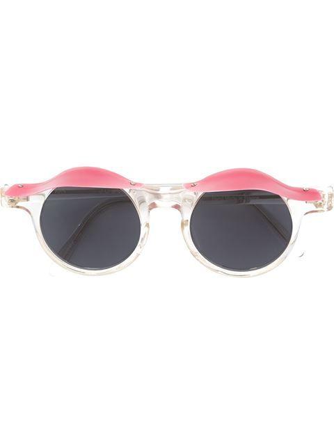 Jc De Castelbajac Vintage 'Blinkers' Sunglasses - Farfetch