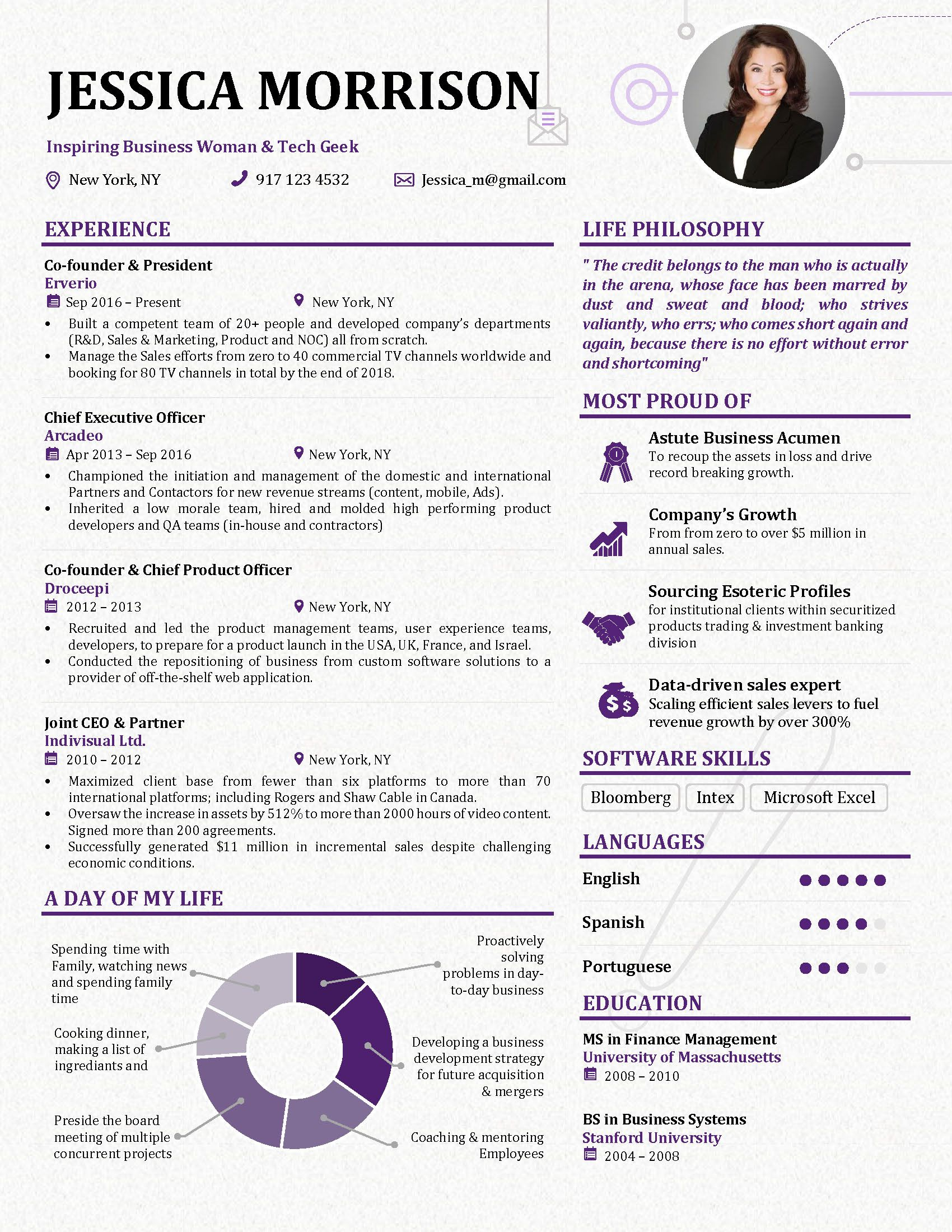 Resume Design Innovative Creative Resume Design Resume Examples Cv Design