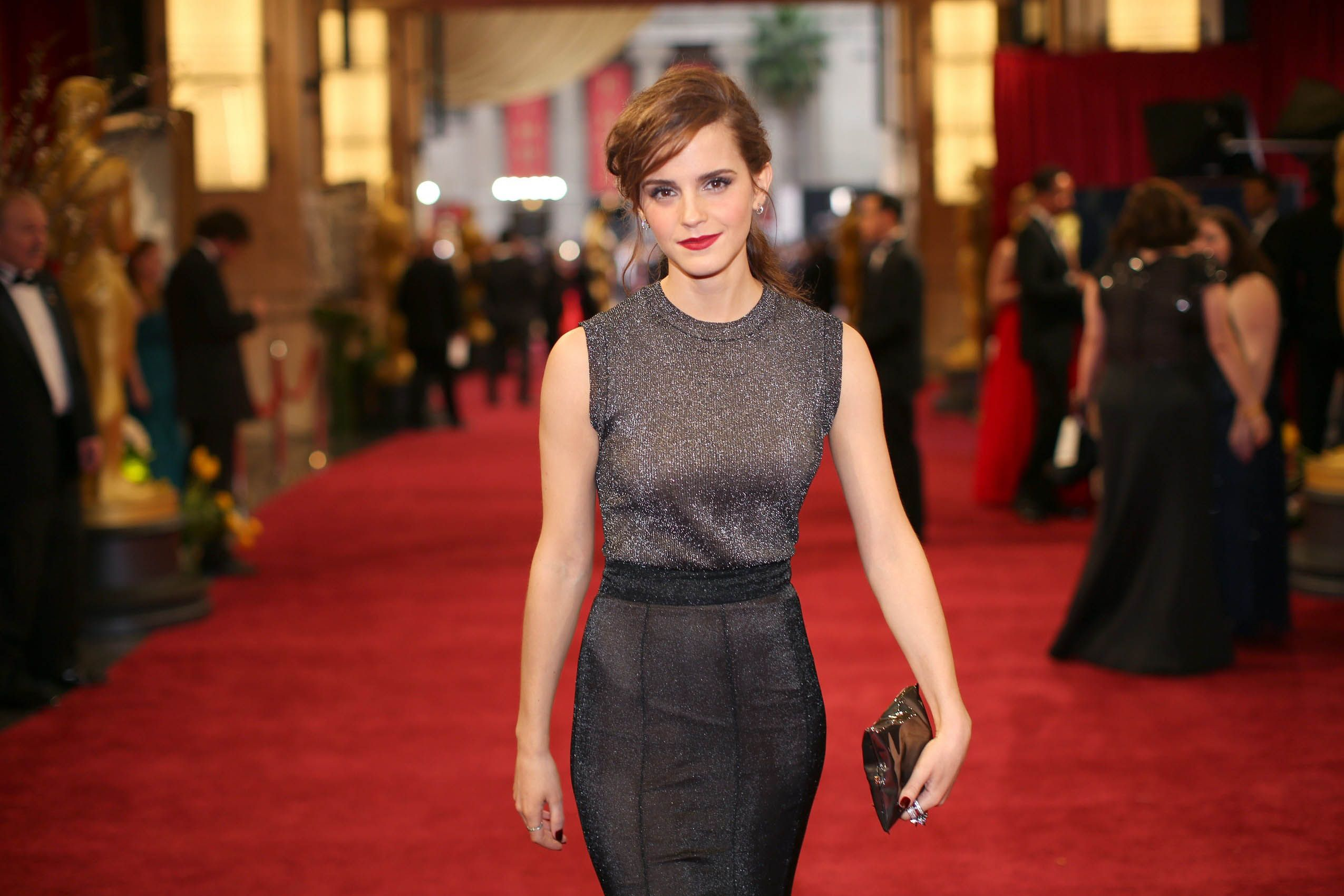 Attends the Oscars at Hollywood & Highland Center on March 2, 2014 in Hollywood, California