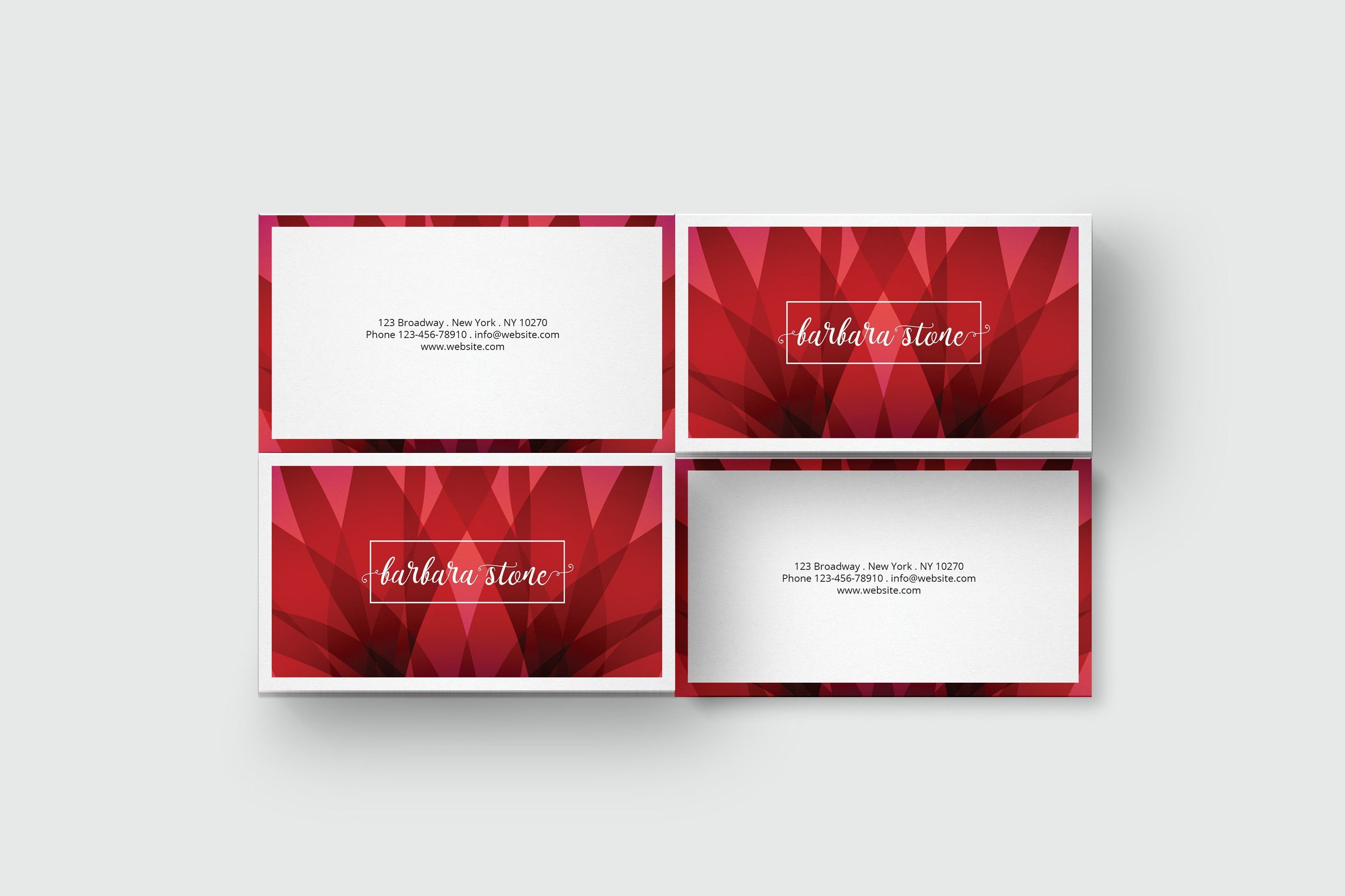 Red Business Card Template Red Business Cards Business Card Template Business Cards Corporate Identity