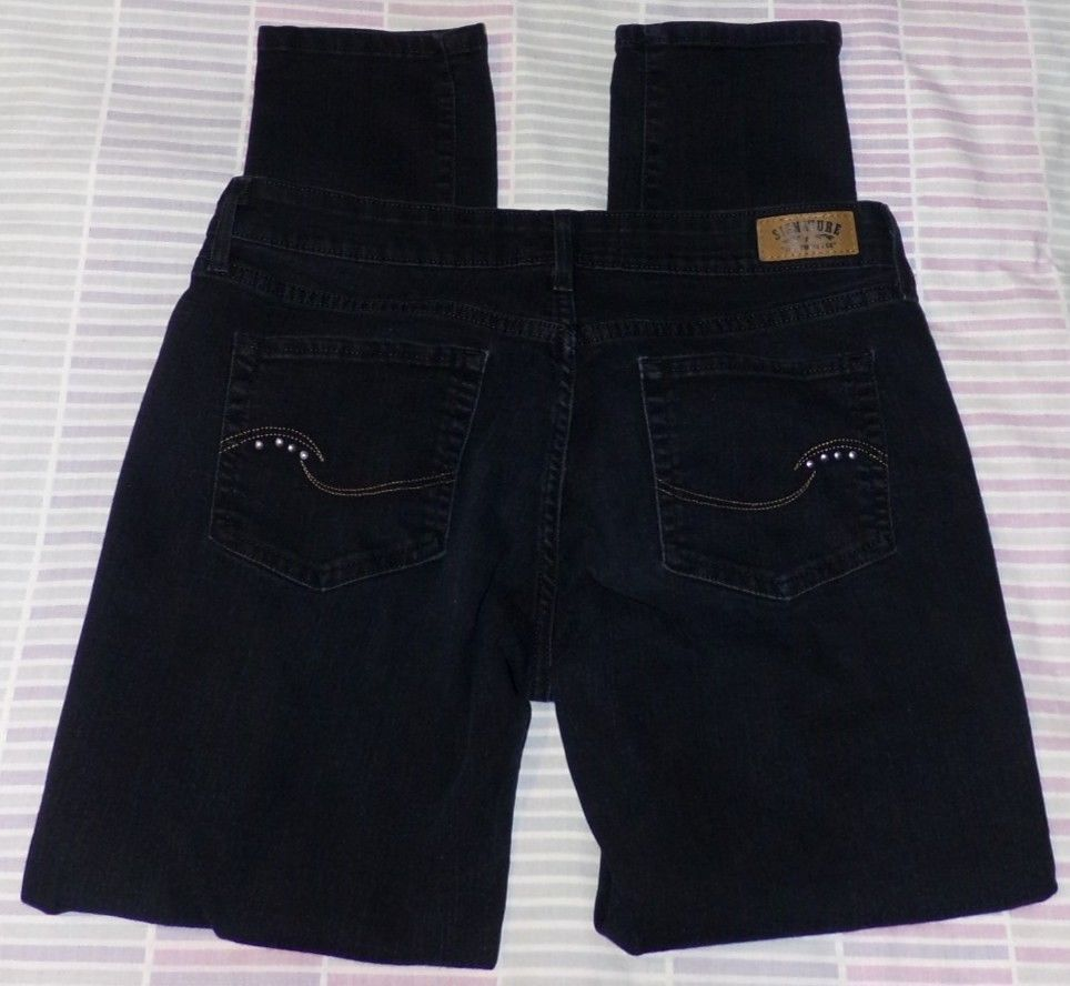 Girls Size 12 Skinny Jeans Black Mid Rise Levis Signature In 2018 Shoes Girl Riselevis Fashion Clothing