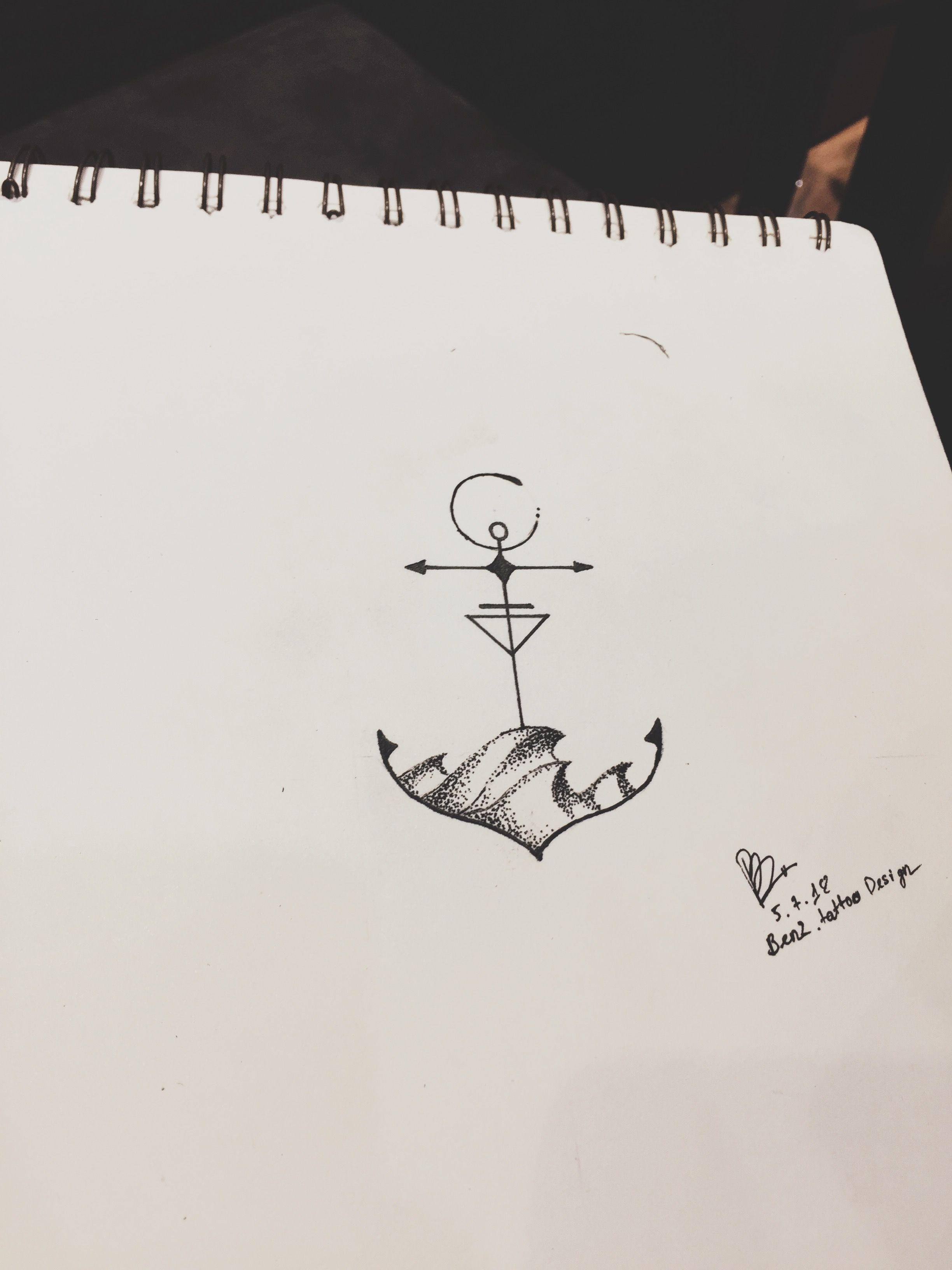 Tiny tattoo design by Benz.Tattoo Design