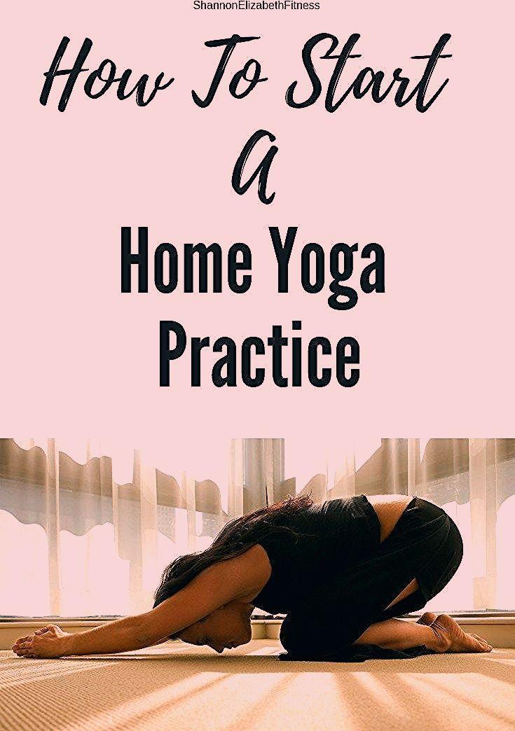 So starten Sie eine Yoga-Praxis zu Hause   Shannon Elizabeth Fitness, #Elizabeth #Fit ... -  So star...