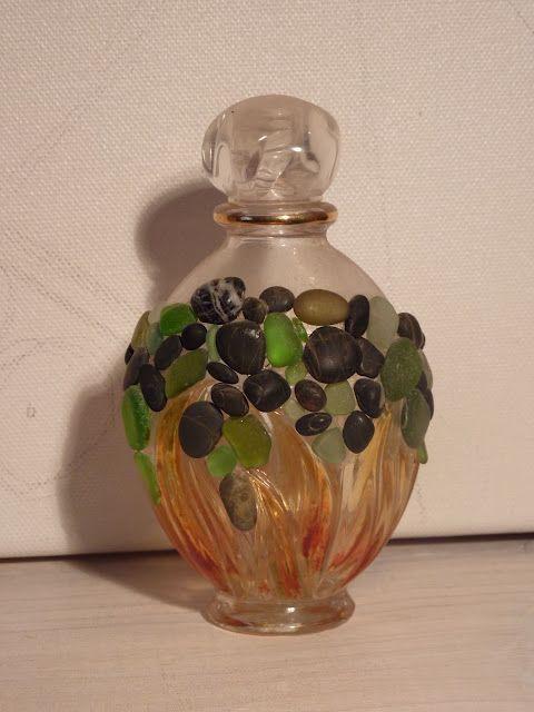 Pebbles and sea glass perfume