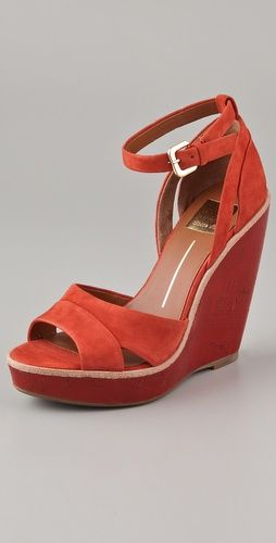 0e887f844d3a Paiva Lacquered Suede Wedges
