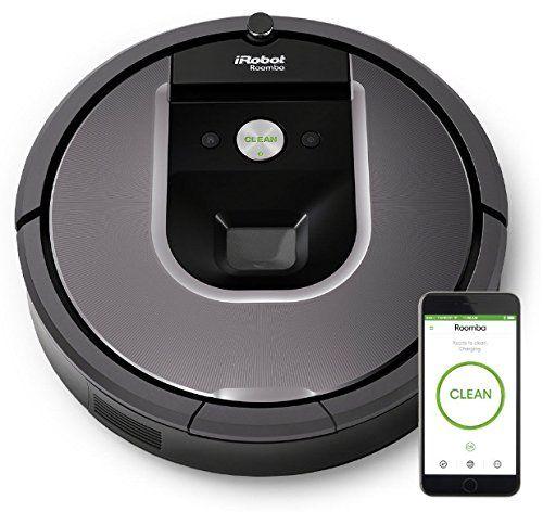 Irobot Roomba 960 Robotic Vacuum Cleaner Irobot Roomba Irobot Robot Vacuum Cleaner