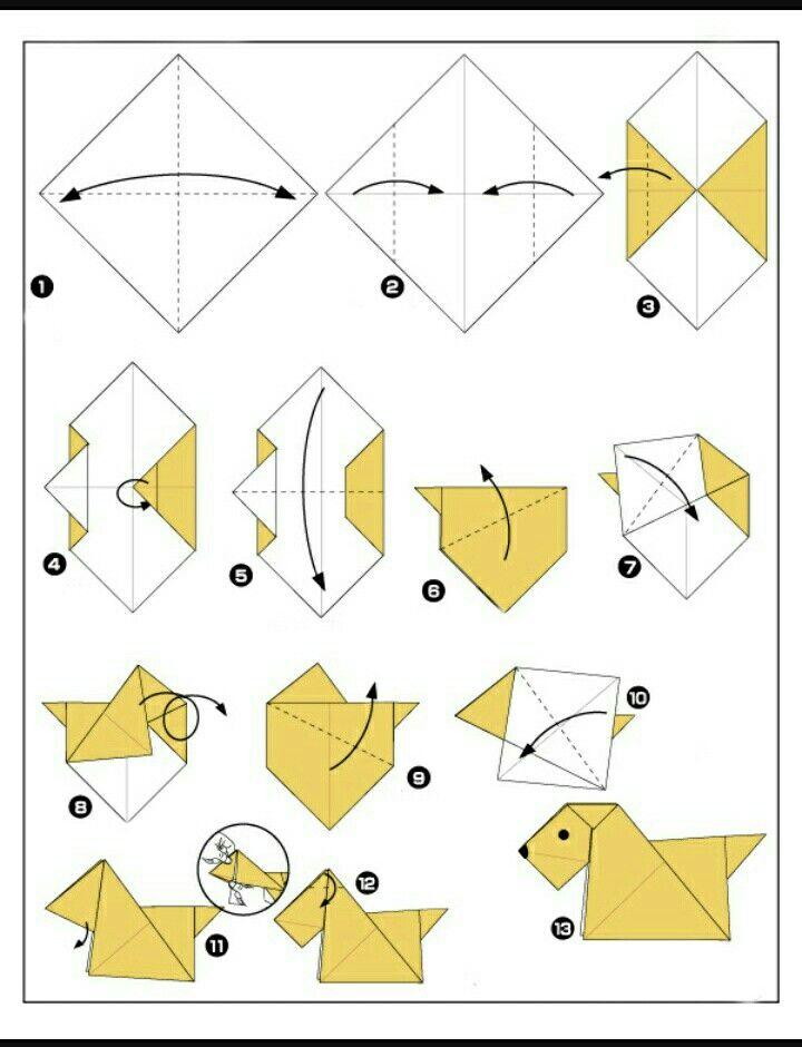 Оригами из бумаги картинки как сделать, днем рождения