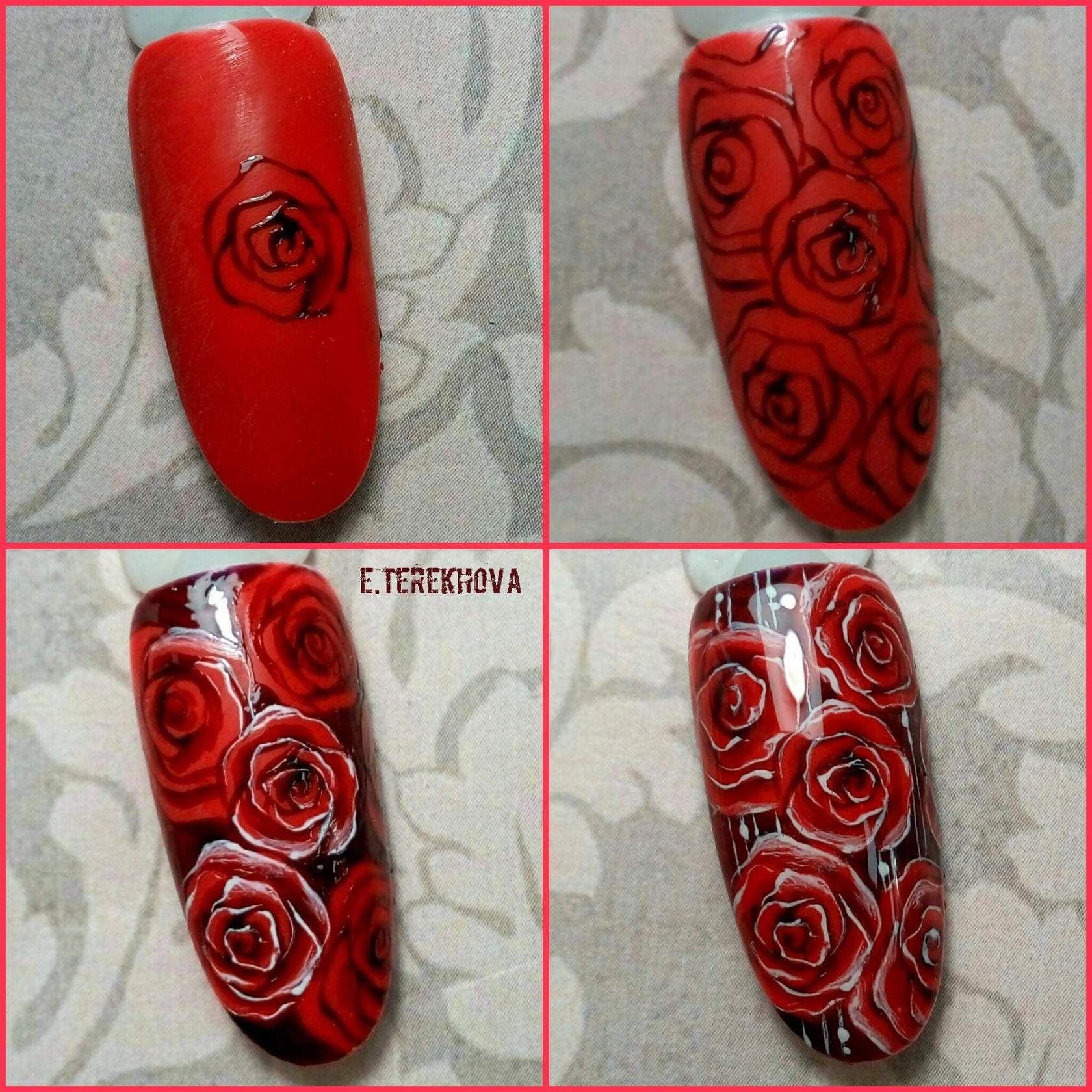 стены дизайн ногтей розы фото пошагово новый клип ханны