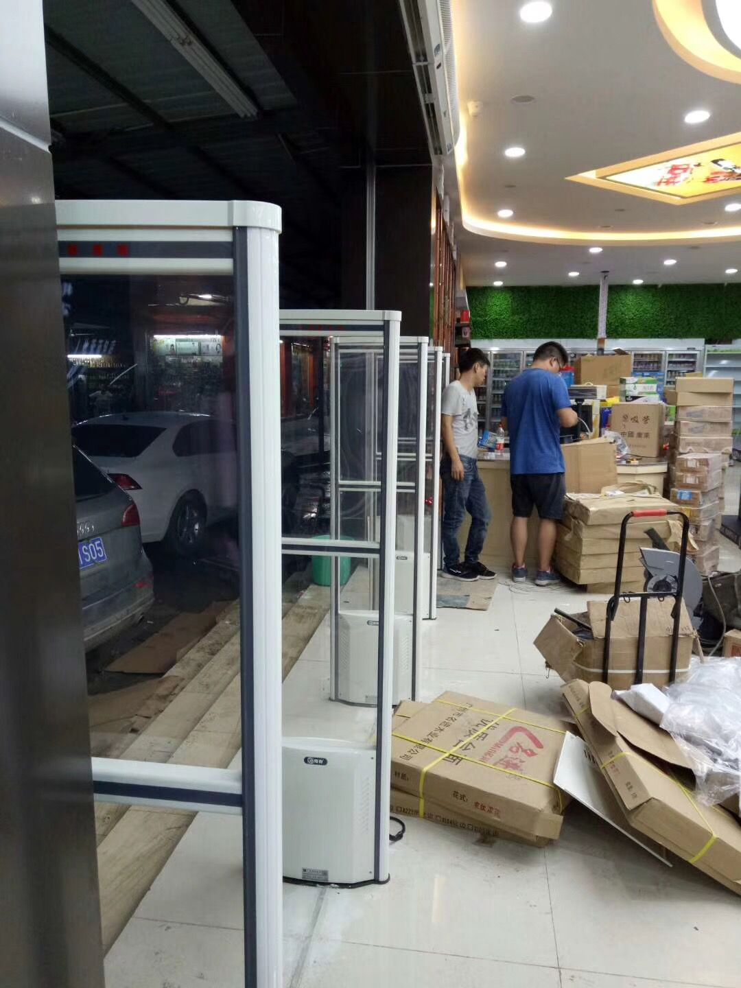 Guangzhou City Good Neighbor Life Supermarket Eas Project Accomplished With Images Good Neighbor Supermarket Accomplishment