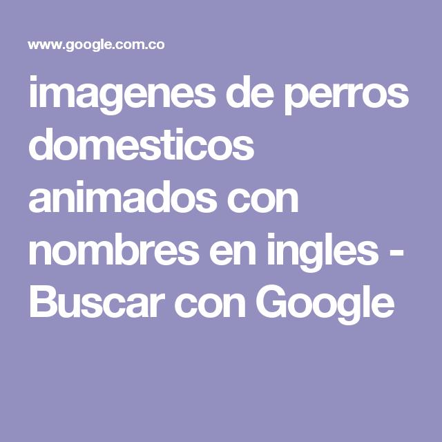imagenes de perros domesticos animados con nombres en ingles - Buscar con Google