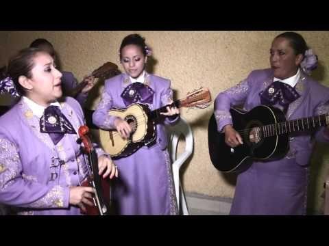 Mariachi Femenil Damas De América - Las Mañanitas - YouTube