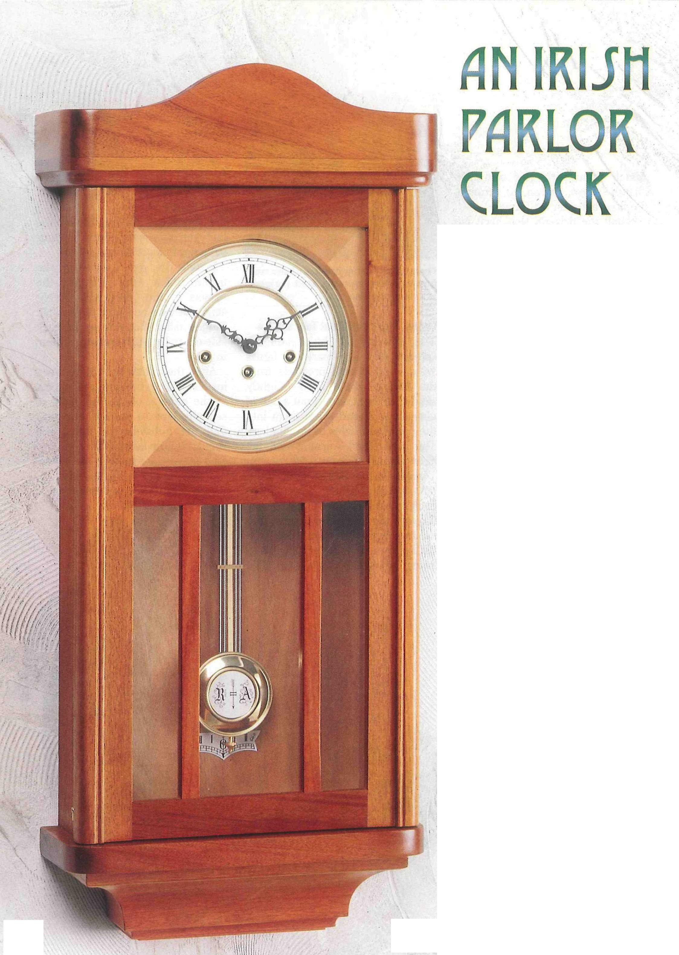 How to Make an Irish Parlor Clock Woodworking basics