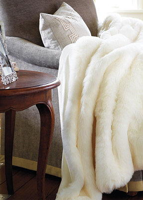 Luxury Faux Fur Throw Designer Throw Blanket Fur Throw Fur Throw Blanket