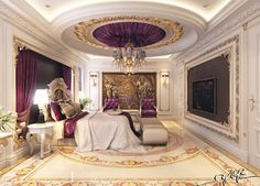 gold and marble purple - Google Search
