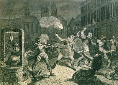 Варфаламеевская ночь в Париже