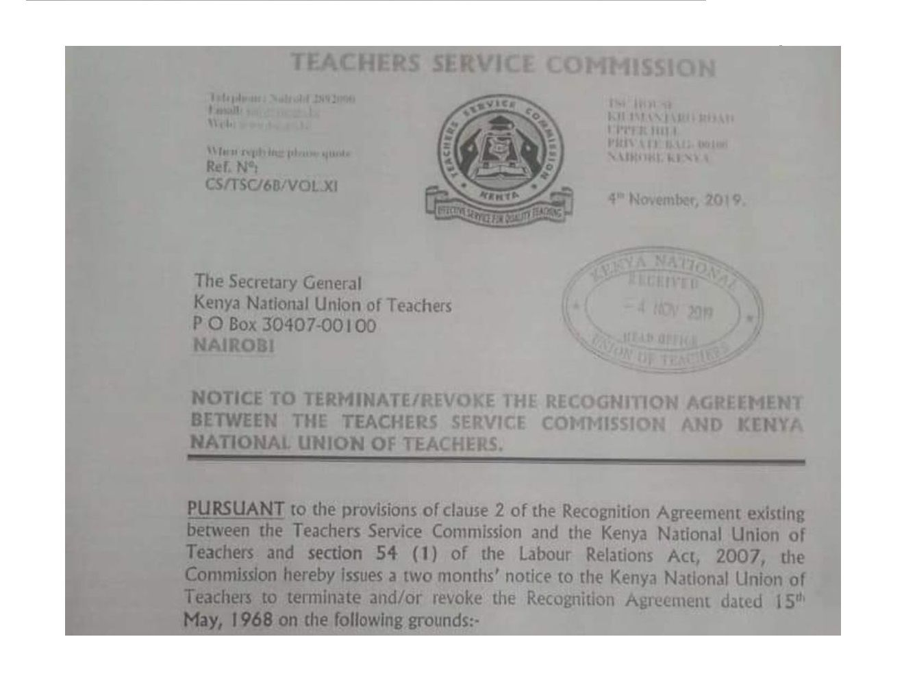 Teachers React To Tsc Latest Moves To Kill Knut Teacher Primary