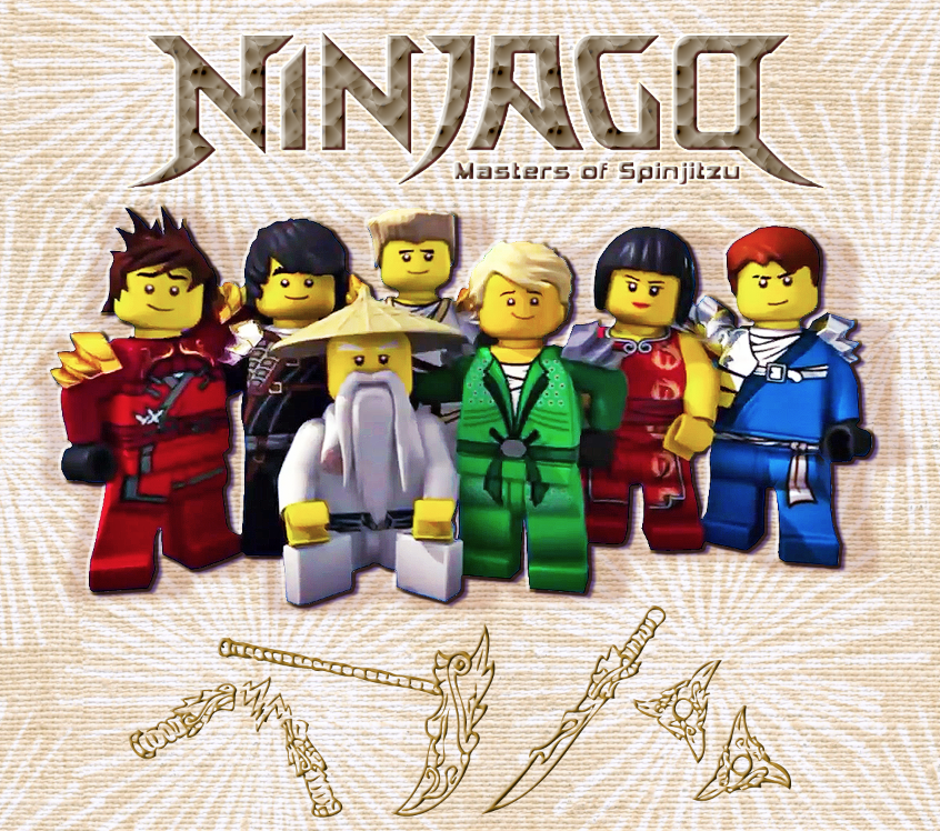 Ninjago Main Cast By Kemurikat On Deviantart Lego Ninjago Birthday Lego Ninjago Ninjago Coloring Pages
