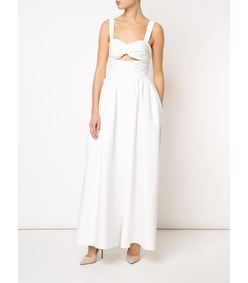 Rosie Assoulin White 'Morning After' Jumpsuit