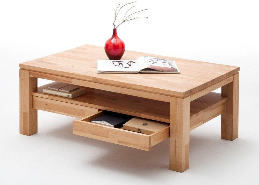 Couchtisch Mit Schublade Holz