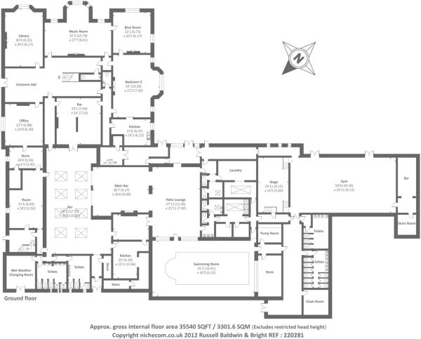 Hay On Wye Baskerville Hall Ground Floor Mansion Floor Plan Bedroom Floor Plans Floor Plans
