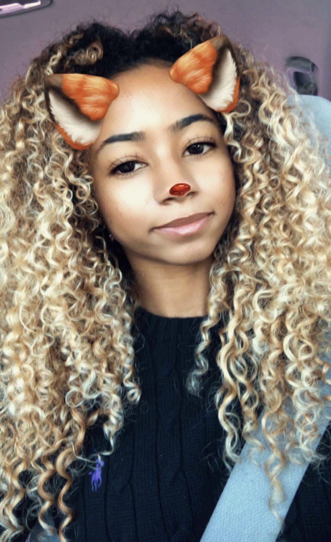 Pinterest Evellynlouyse Blonde Curly Hair Curly Hair Styles