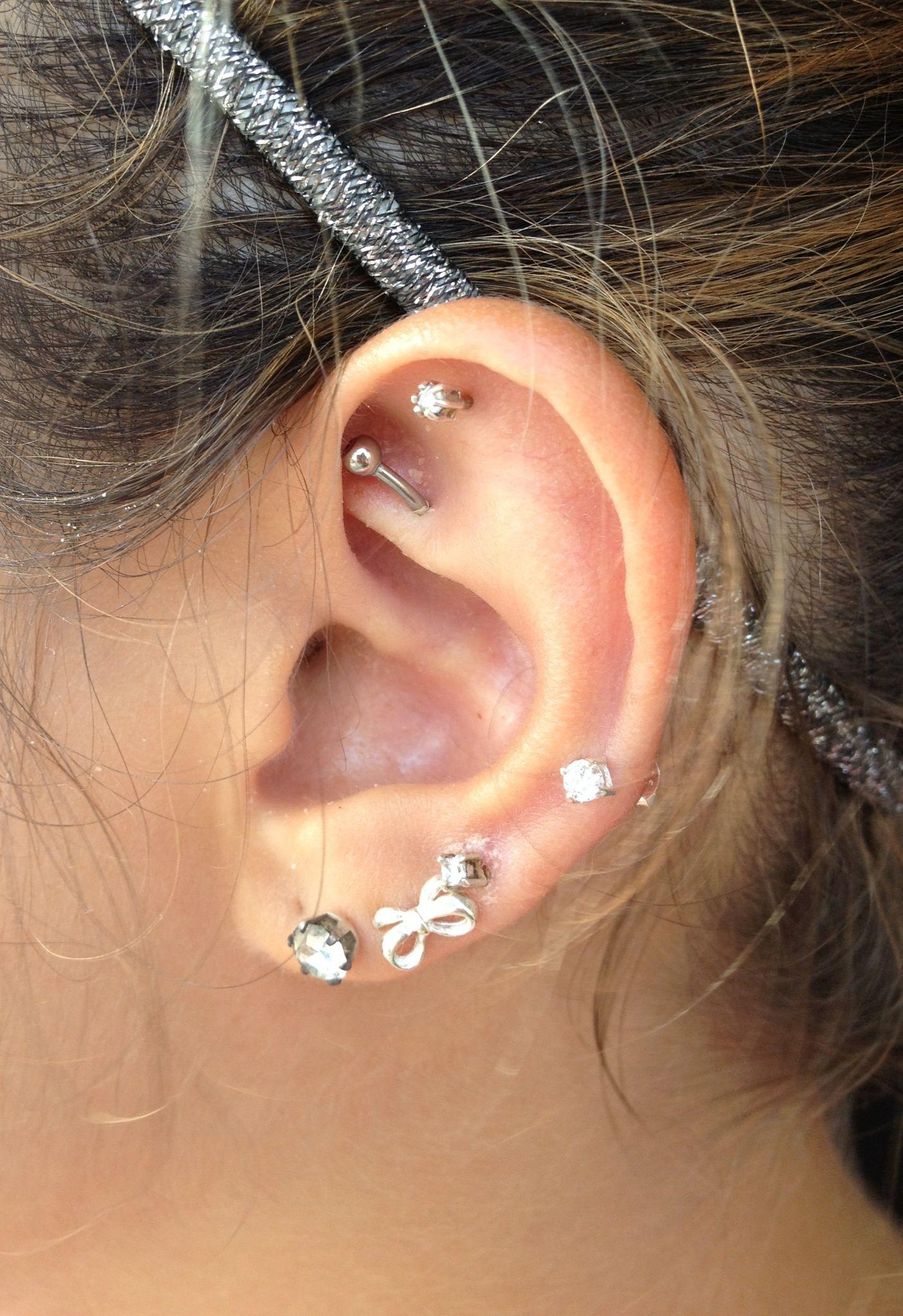 Tragus piercing names  Rook piercing  Piercing  Pinterest  Rook piercing Rook and Piercing
