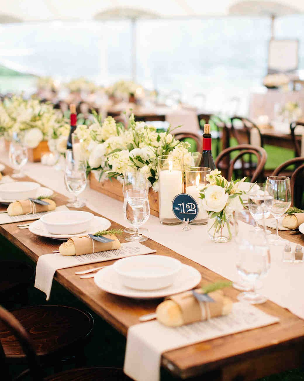 55 Clever Ways To Trim Your Wedding Budget Table Decorations