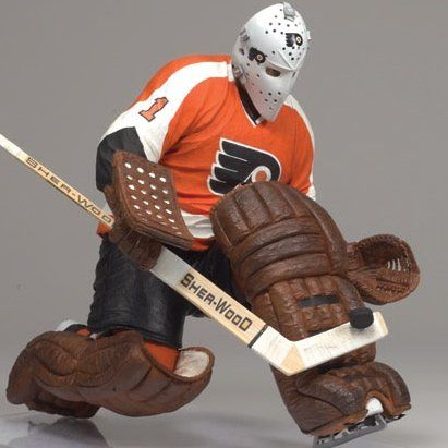 Mcfarlane Toys Nhl Sports Picks Series 19 Action Figure Bernie Parent Philadelphia Flyers Orange Jers Sports Games For Kids Bernie Parent Philadelphia Flyers
