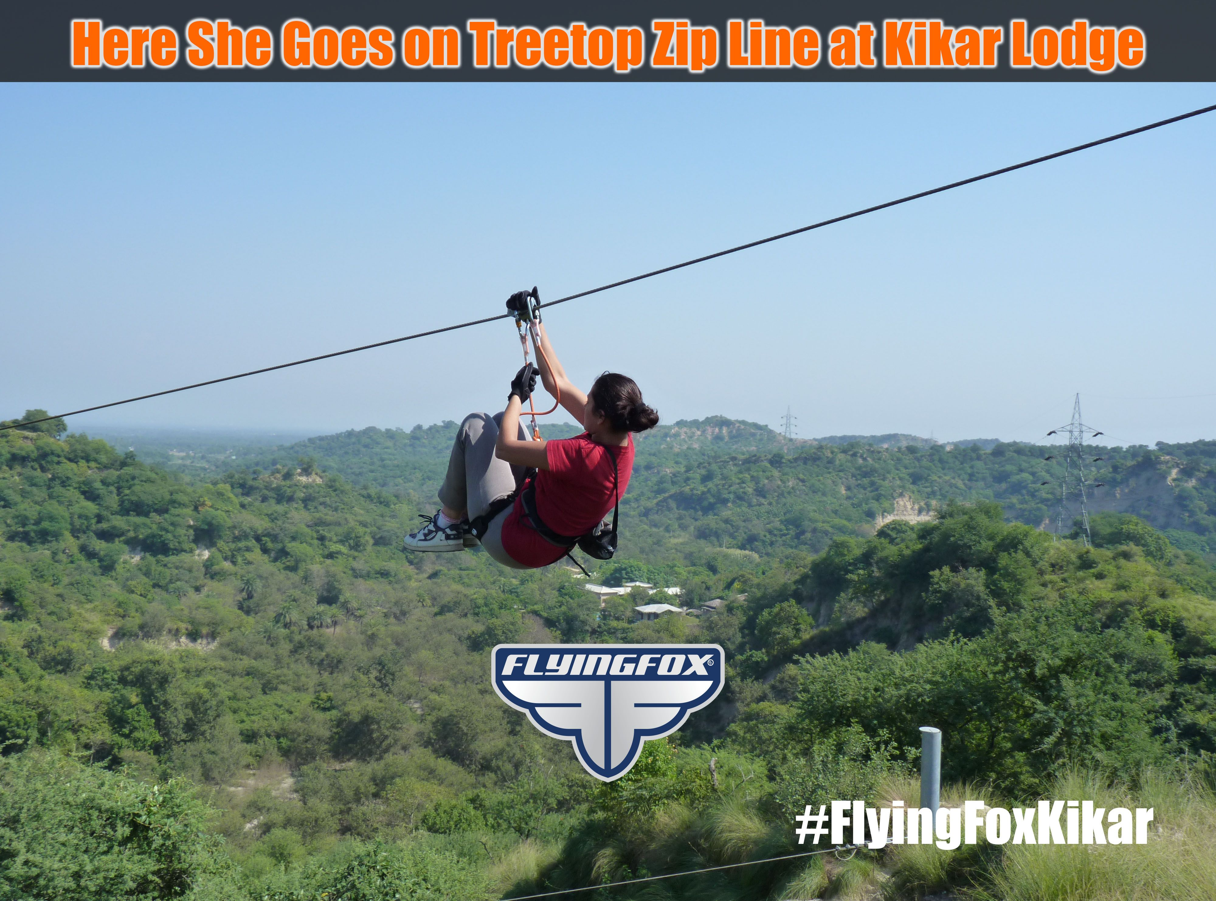 Here She Goes On Treetop Zip Line Tour By Flying Fox At Kikar Lodge For Bookings Http Flyingfox Asia Flyingfoxzip Flyingfoxkika Ziplining Tours Tree Tops