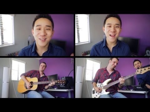 Blurred Lines - Robin Thicke (Jason Chen Acoustic Cover) (+playlist)