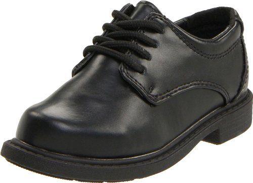 Hush Puppies Women S Dalby Ta Flat Black 6 5 M Us Kids Dress Shoes Boys Dress Shoes Boys Oxford Shoes