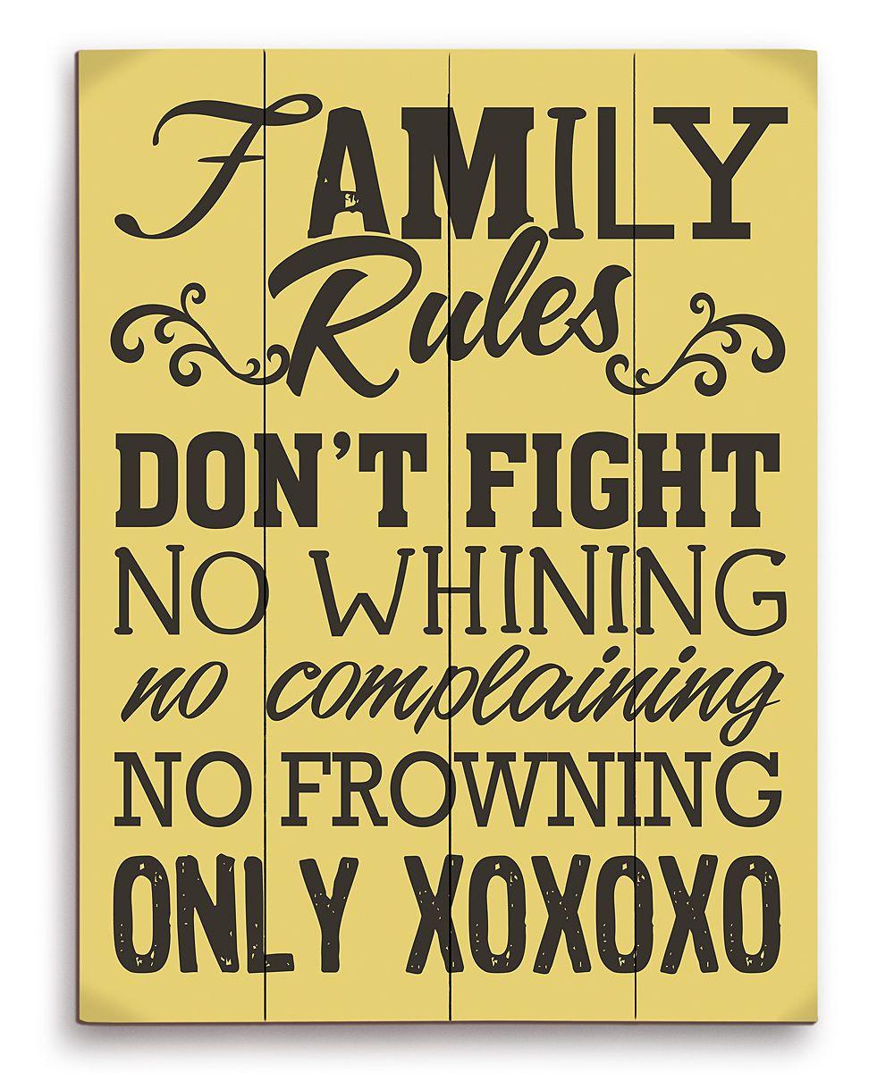Family Rules   FAMILY <3   Pinterest   Family rules, Inspirational ...