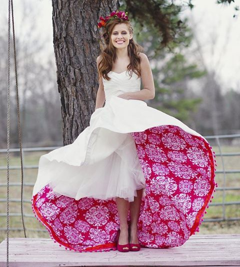 Something Borrowed Wedding Ideas: A Playful Splash Of Colors! #bigindianwedding