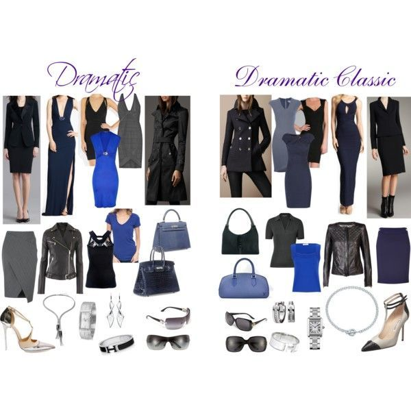 dramatic style outfit ideas for soft summer coloring, neat ...
