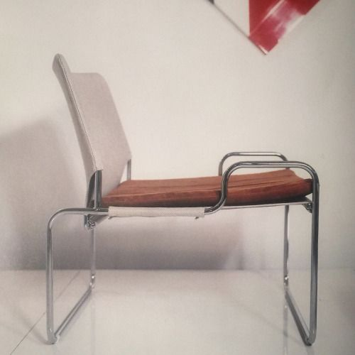 1968 Kenya Chair By Claude Courtecuisse
