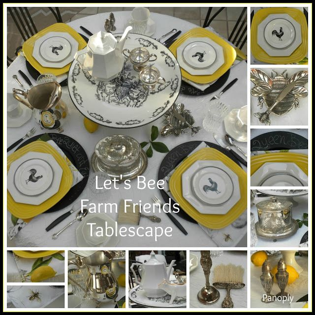 Panoply: Let's Bee [Farm] Friends - Tablescape!