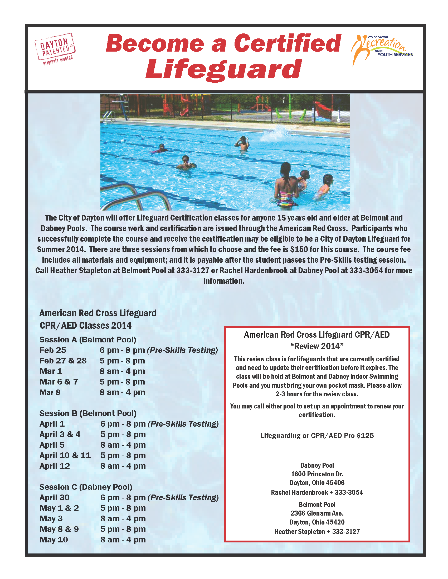 Become an american red cross certified lifeguard daytonrecyouth become an american red cross certified lifeguard daytonrecyouth swimming summer 1betcityfo Image collections