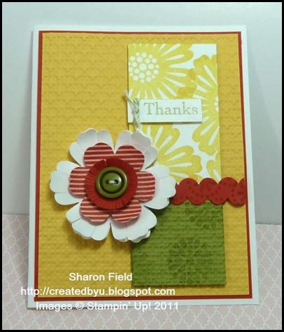 Stepped up Leadership Make  Take Sample Cards  Paper Crafts - Sample Cards