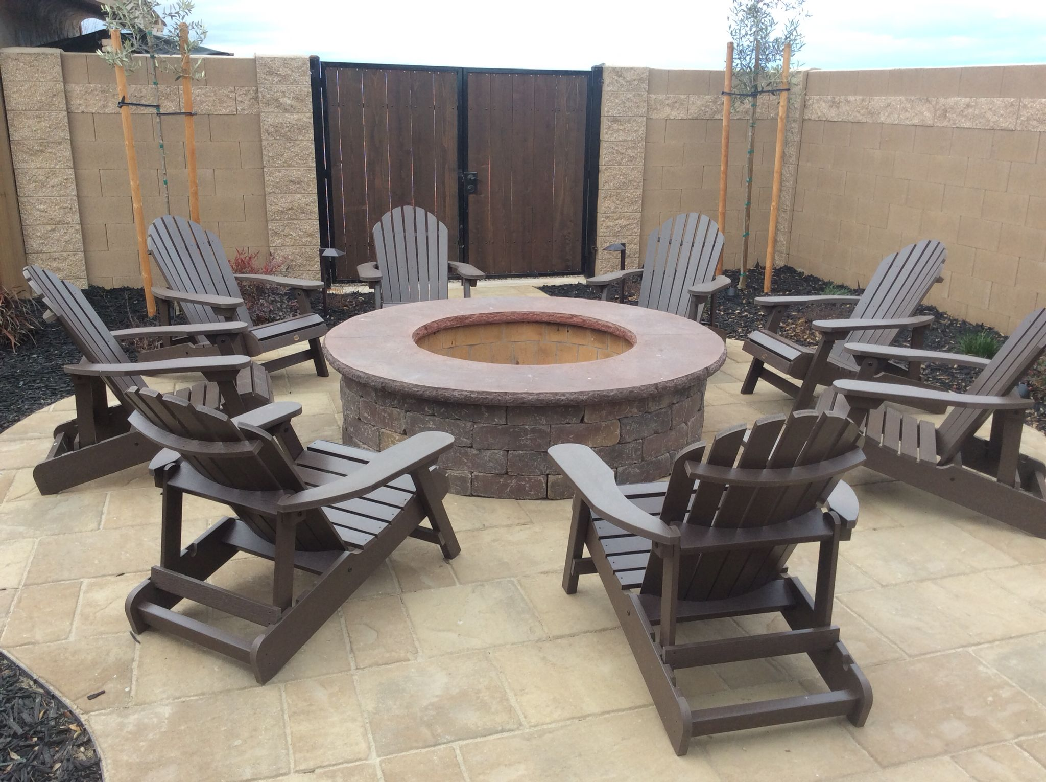 andy souza masonry fire pit stone design outdoor entertainment