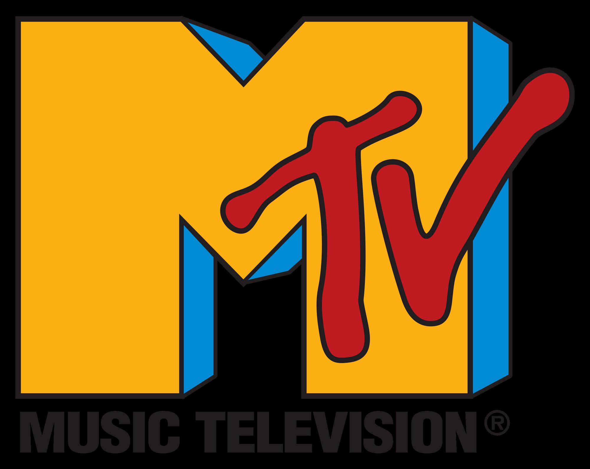 """Logotip de la cadena de música """"MTV"""", que va neixer l'1 d'agost de 1981."""