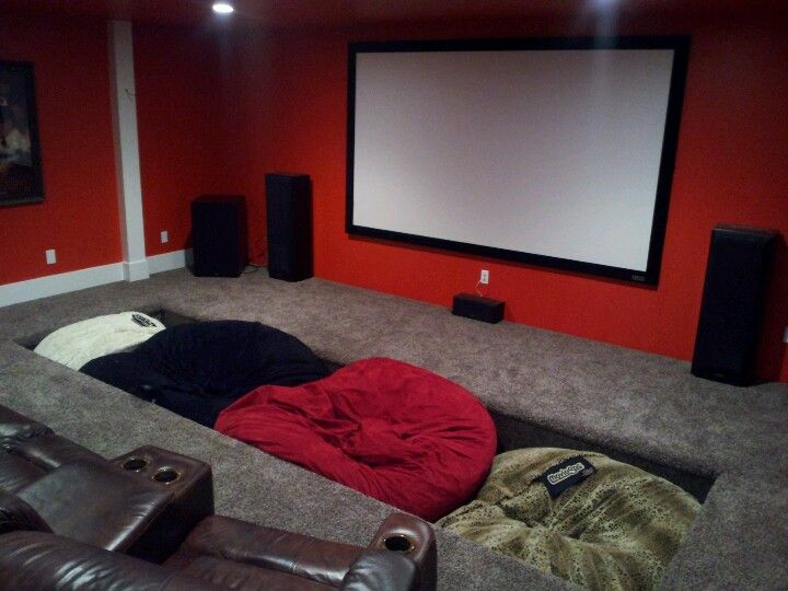 Surprising Built In Bean Bag Pit Homes And Ideas By Sean Foote In Unemploymentrelief Wooden Chair Designs For Living Room Unemploymentrelieforg