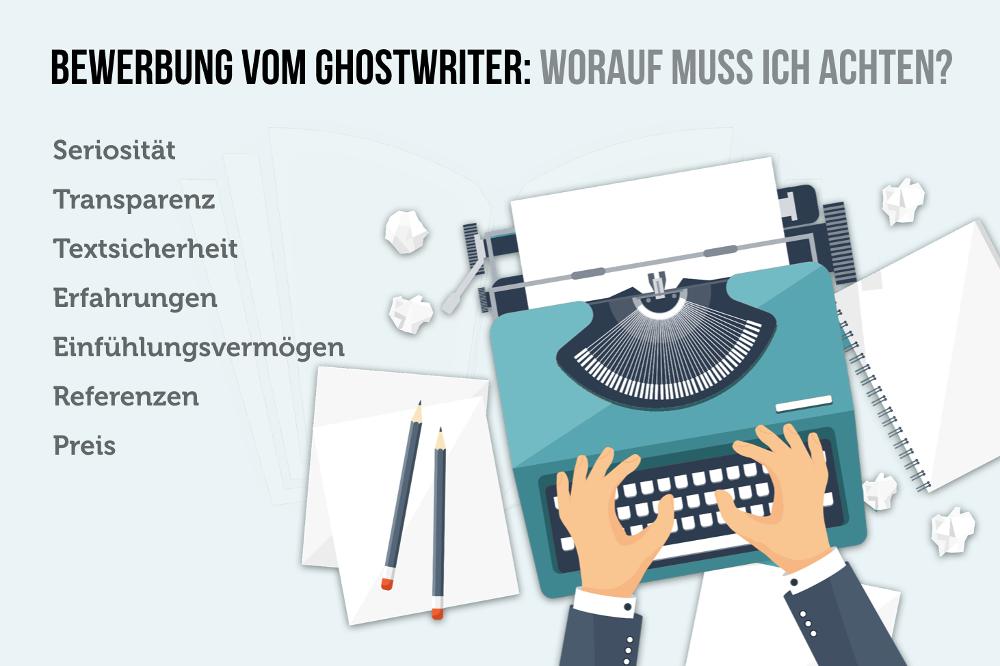 Bewerbung vom Ghostwriter: Darf man das? | Bewerbung ...