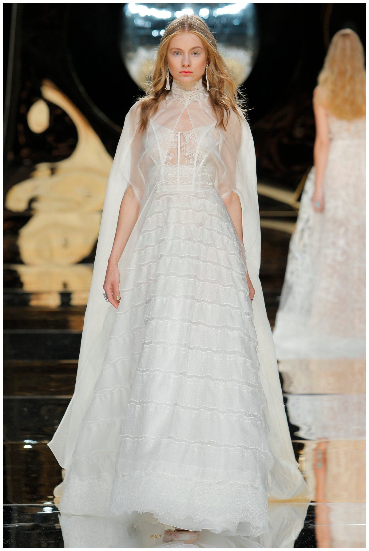 Conservative wedding dresses  Wedding dress by Yolan Cris from the Yolan Cris Bridal Collection