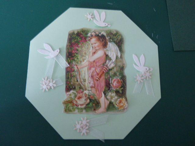 engeltje achthoekige kaart