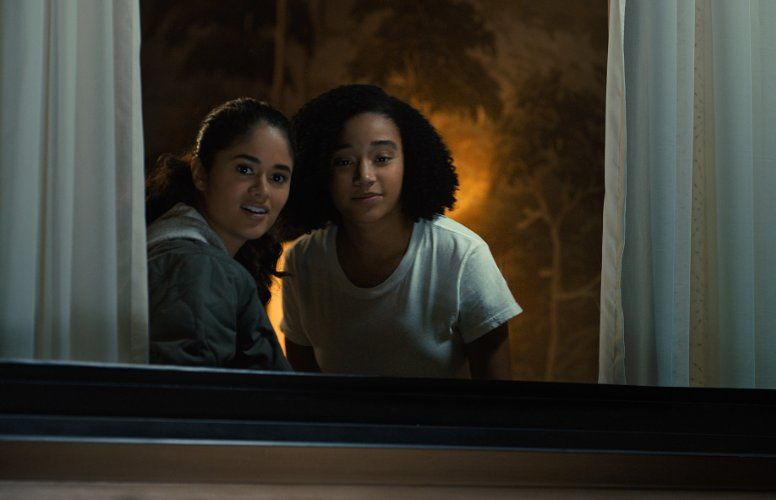 Amandla Stenberg And Danube Hermosillo In Everything Everything