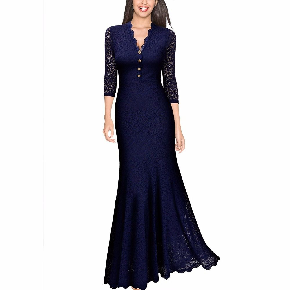 Lace v neck maxi dress  Cheap maxi dress Buy Quality maxi dresses long directly from China