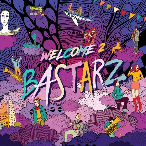 East Asia Addict: [CD] BASTARZ (Block B sub-unit) – Welcome 2 Bastar...